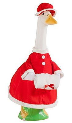 Miles Kimball Mrs Claus Goose Outfit ** Learn more by visiting the image link.