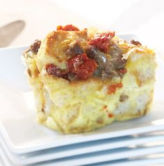 Egg Casserole with Sausage and Sun-Dried Tomatoes is a pretty healthy choice for Mother's Day brunch. She'd be so proud of you for choosing to make it for her.