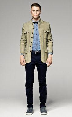 Sisley Man Collection - Look 12