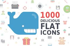 Check out Flatilicious Icons by Pixel Bazaar on Creative Market