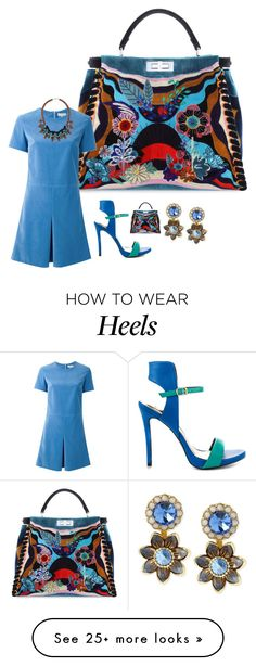"""""""All about the bag!"""" by easy-dressing on Polyvore featuring Fendi, Carven, Lust…"""