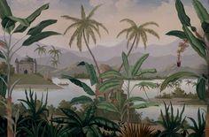 Paysages colorés - Mandalay couleur - 350x225 - ultra mat - 4 lés de 87,5cm
