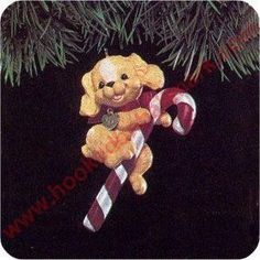 1991 Puppy Love #1 Hallmark Ornament