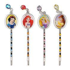 Disney Princess Jeweled Hair Pins | Disney Store