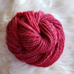 3.6 oz 90 yds Handspun 2-Ply Merino Wool Yarn