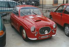 "harrysz: "" Fiat Topolino Zagato, in the week before the Mille Miglia about ten years ago. """
