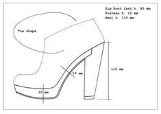 - by Lisa Bozzato How To Draw Heels, Flat Drawings, Fashion Sketchbook, Drawing Fashion, Shoe Sketches, Fashion Portfolio, Drawing Skills, Technical Drawing, Fashion Moda