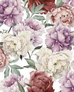SWEET PEONIES WALLMURAL #floralwallpaper #wallpaper #fowers #peonies #blommigtapet #tapet #wallaper