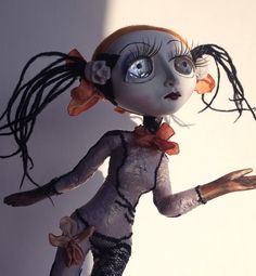 Art Doll Tiffany OOAK Gothic Clown by ComeGetSome on Etsy