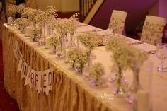 Decor realizat cu floarea miresei albă – Flowers of Soul Restaurant, Table Decorations, Home Decor, Decoration Home, Room Decor, Diner Restaurant, Restaurants, Home Interior Design, Dinner Table Decorations