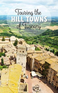 Touring Tuscany by public bus and rental car, visiting San Gimignano, Montalcino, Montepulciano, Siena, and Pienza. What is better: bus or rental car? #ItalyTravel