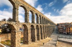 Aqueduct of Segovia | I had no luck for a nice light in Sego… | Flickr
