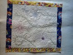 Free form flowers project on Craftsy.com, Beyond Basic Machine Quilting