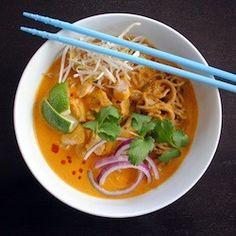 Thai Curry Chicken Noodle Soup