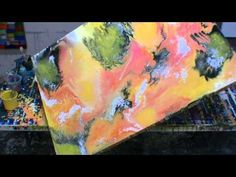 Abstract Art Painting Ideas, Techniques, Tips, Tricks and Tools Fluid Art - YouTube