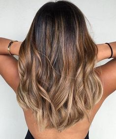 Balayage Hair Ideas in Brown to Caramel Tone you should try – Balayage caramel brown hair