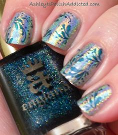 stamping with revlon gold coin - Google Search