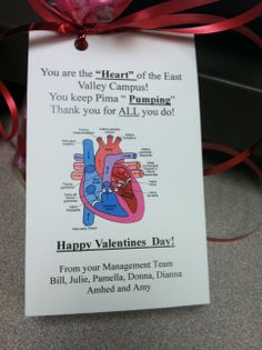 Celebrating Valentine's Day at Pima Medical Institute's East Valley campus! Students received a sweet treat.