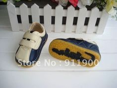 Discount Baby Boy Squeaky Shoes B102 Navy and Beige for Autumn Spring on AliExpress.com. $13.50
