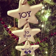 Love Sown: Making Ceramic Ornaments with Cookie Cutters