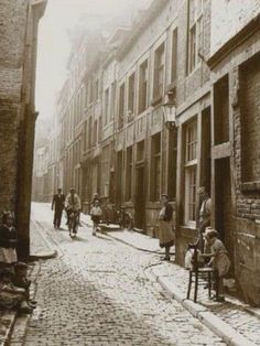 Stokstraat Vintage Pictures, Belgium, Netherlands, Street View, City, Places, History, Pictures, Nostalgia