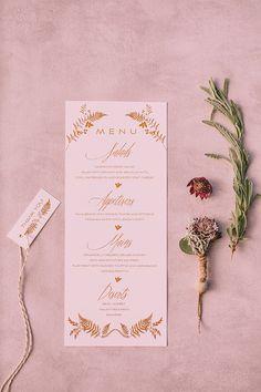 Modern botanical styled shoot - Love4Weddings