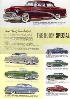 A vintage 1948 Buick Roadmaster! Cadillac, Buick Cars, Buick Roadmaster, Car Brochure, Buick Riviera, Car Posters, Car Advertising, Us Cars, Race Cars