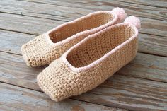 #Crochet Apparel (Corona): Ravelry: Sweet Slipper pattern by Sarah Cooper