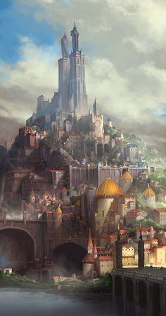 kingdoms by artcobain.deviantart.com on @DeviantArt