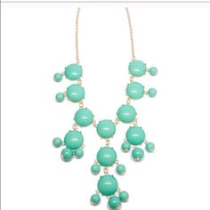 New Light Teal Necklace Nickel and Lead Free! Brand New! Ships ASAP! Jewelry Necklaces