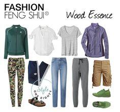Wood Essence : FASHION FENG SHUI ® by briarjb on Polyvore featuring polyvore, мода, style, Camixa, Gap, Title Nine, adidas, LNDR, Uniqlo, adidas Originals, Diadora, Birkenstock, fashion and clothing
