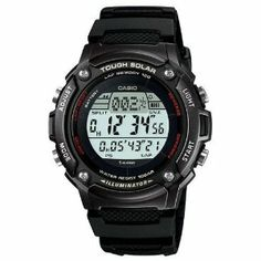 Casio Men's WS200H-1BV Black Resin Quartz Watch with Digital Dial Casio. $27.99. Quartz Movement. Mineral Crystal. 42mm Case Diameter. 100 Meters / 330 Feet / 10 ATM Water Resistant