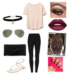 """""""Untitled #1688"""" by glamor234 on Polyvore featuring Gap, Sergio Rossi, Reiss, Betsey Johnson and Lime Crime"""