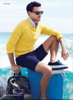 Summer impact!!  In love with yellow! :)) MODA Inamorato | Mens Fashion