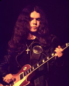 "Gary Rossington—legendary Lynyrd Skynyrd guitarist—with his 1959 Gibson Les Paul, ""Bernice""."