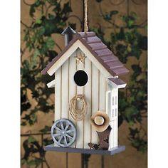 Country decor bird houses!