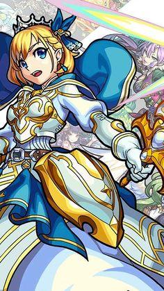 モンスターストライク(モンスト) XFVGA(480×854)壁紙 不滅なる円卓の騎士王 アーサー(獣神化) Monster Strike, Anime Characters, Fictional Characters, Princess Zelda, Manga, Wallpaper, Game, Knights, Comics