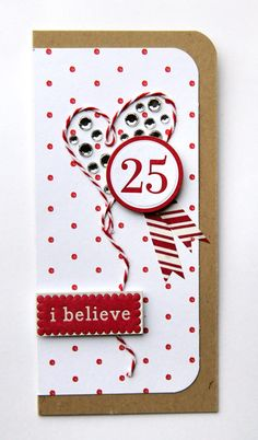 """WO-106 - Joy & Peace/Little Red Hot Dot  WO-165 - Chipboard Stickers - Words - with debossing (16 pieces)  WO-222 - Canvas Tape Rolls - 3/4"""" x 36"""" per design (3 pieces)  The Twinery Baker's Twine (Maraschino)  Glue Pen  Kraft Cardstock  Rhinestones"""