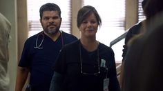 Luis Guzmán as Jesse Sallander and Marcia Gay Harden as Dr. Leanne Rorish