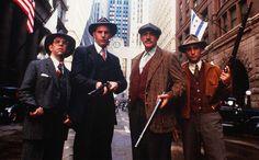 The Untouchables (USA, 1987) - Directed by Brian De Palma - Starring Kevin Costner, Sean Connery, Robert De Niro, Andy Garcia.