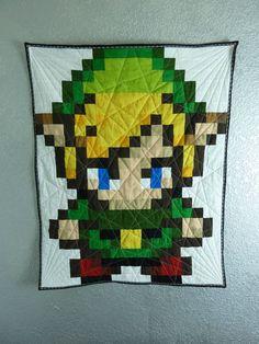 Link Legend of Zelda Quilt