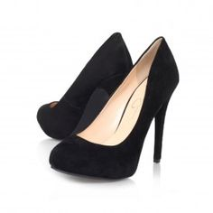 NATALLI Black High Heel Court Shoes by Jessica Simpson