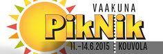 Kouvolassa 11.-14.6.2015  toista kertaa järjestettävä Vaakuna Piknik kerää Suomen eturivin artistit Kouvolan keskuskirkkopuistoon ainutlaatuiseen keskusta- ja puistomiljööseen.