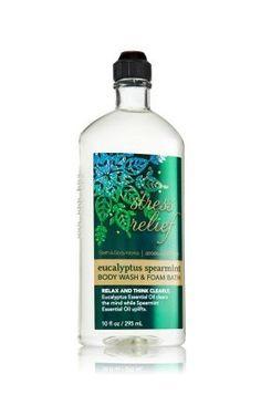 Bath & Body Works 2013 LTD Edition Aromatherapy Body Wash & Foam Bath Eucalyptus Spearmint 10oz