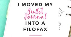 After two years of Bullet Journaling I moved my Bullet Journal into a Filofax. Find out why I think this offers you the best of both worlds and learn how you can set up your own Bullet Journal Filofax easily. This is Bullet Journaling the smart way and saves you a ton of time each month.