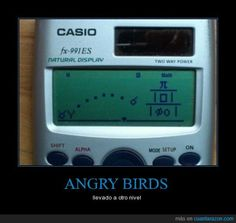 ANGRY BIRDS - llevado a otro nivel