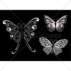 White Lace Butterfly Belle Tattoo, B Tattoo, Lace Tattoo, Cute Tattoos, Body Art Tattoos, Small Tattoos, Tatoos, Butterfly Images, White Butterfly