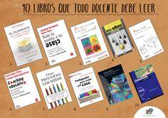 Otros 10 libros que todo docente debe leer. http://elblogdemanuvelasco.blogspot.com.es/2014/12/otros-10-libros-que-todo-docente-debe.html