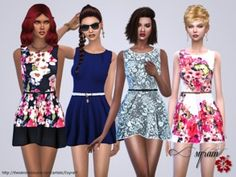 Sims 4 Female Clothing