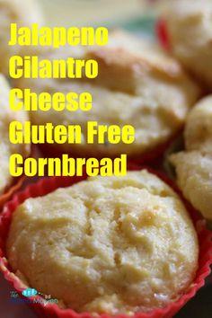 Jalepeno Cilantro Cheese Gluten Free Cornbread #AD @SincerelyBrig #recipes #glutenfree